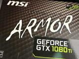 Видеоадаптер Armor Geforce GTX1080Ti 11Gb, бу