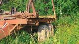 Телега для лесозаготовки